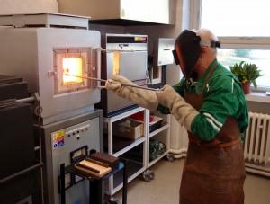 Superkantalová pec s možností výpalu do 1500°C